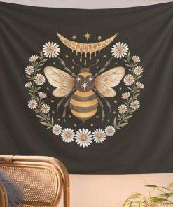 Biene Wandbehang